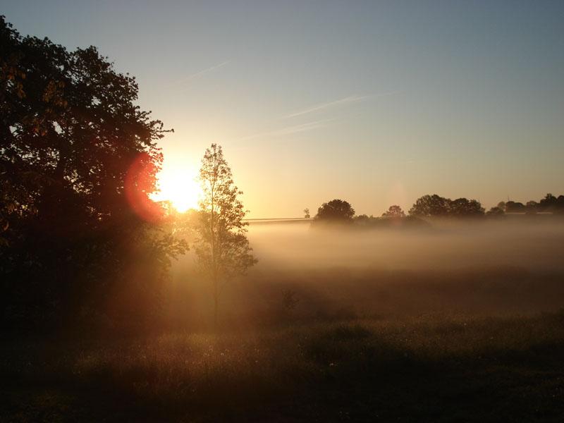 Krajobraz o wschodzie słońca, Dygowo